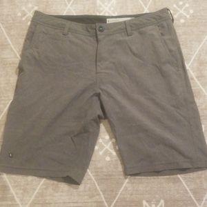 """Linksoul """"Solid Boarwalker Shorts"""" Men's 34"""
